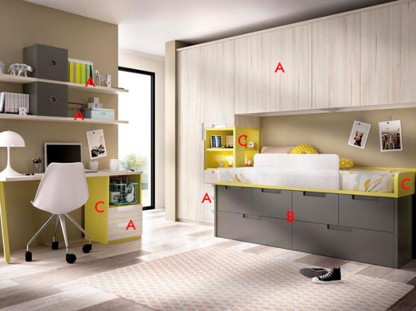 Colchones muebles valencia for Somier 135 barato