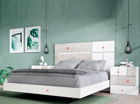 Dormitorio Juvenil Rústico Colonial 50