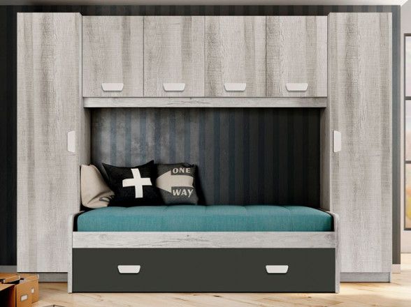 Dormitorio Juvenil Modelo Torrente 21