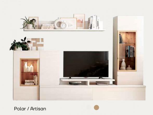 Mesa TV Modelo Rústico Moderno 2