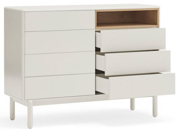Mesa de madera maciza de estilo vintage