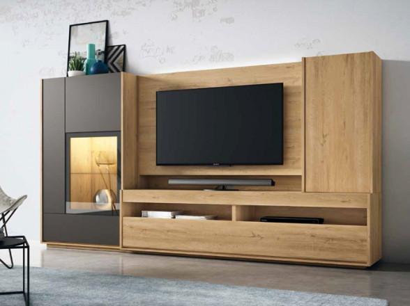 Lámpara de techo fabricada con metal oro