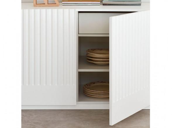 Conjunto de mesa y sillas para exterior