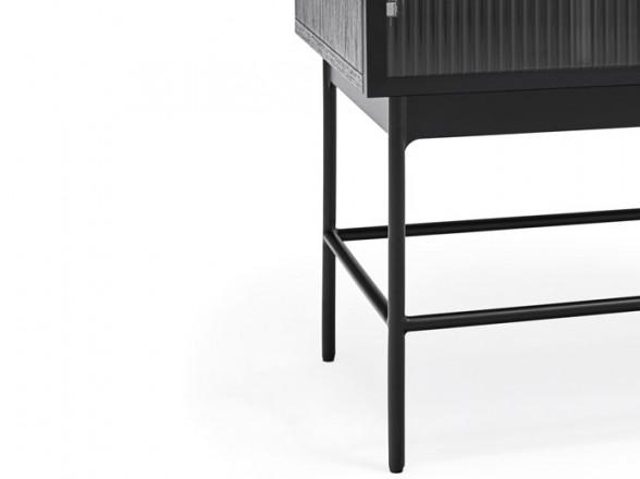 Silla reclinable para playa roja