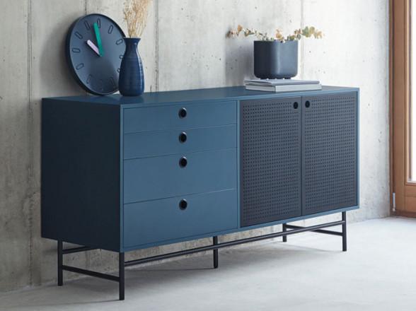 Tumbona de madera para jardin