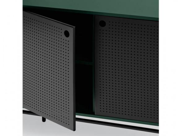 Mesa y sillas de aluminio