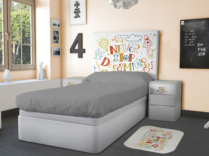 Dormitorio Infantil Modelo Bebé 2