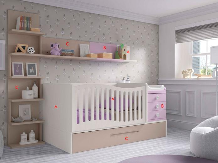 Dormitorio Juvenil Moderno 102