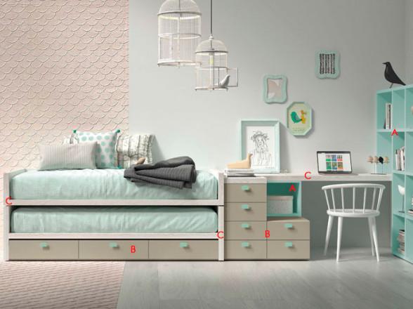 Mesa TV Modelo 22