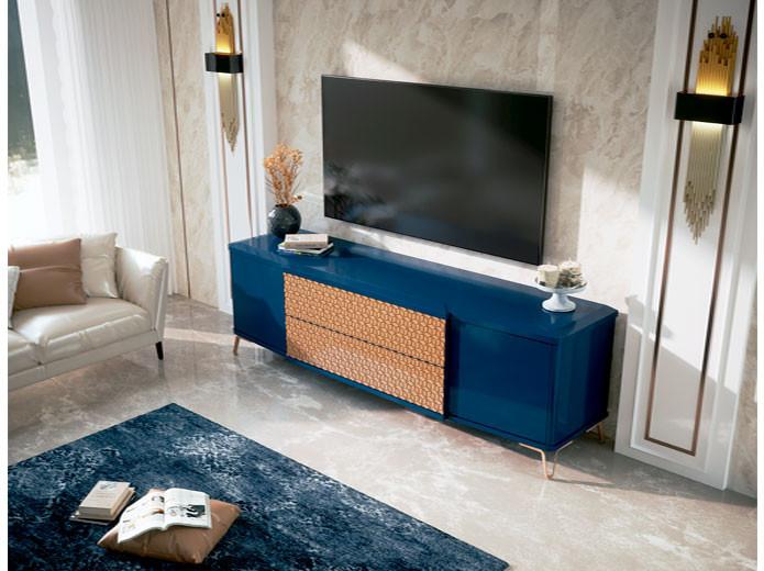 Conjunto cama de dise o con cabecero tapizado muebles valencia - Muebles diseno valencia ...