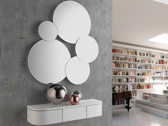 Mueble recibidor estilo cl sico de madera modelo 59 - Mueble clasico valencia ...