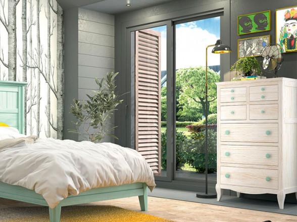 Dormitorio Juvenil Moderno 155