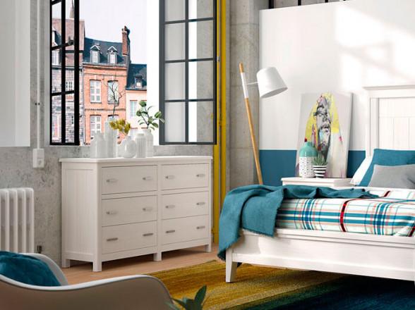 Dormitorio Juvenil Moderno 164