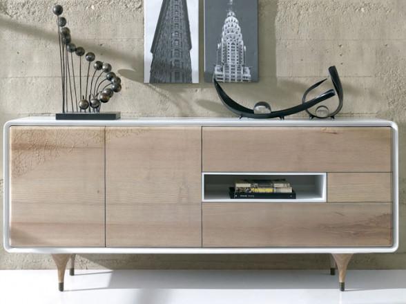 Dormitorio Juvenil 192 con cama con dosel en Madrid