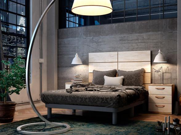 Dormitorio Juvenil rústico en Móstoles