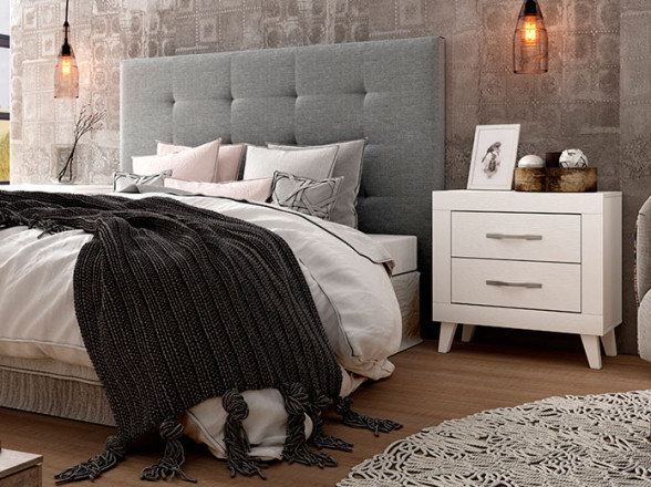 Dormitorio Juvenil Rústico Colonial 38 en Muebles Valencia