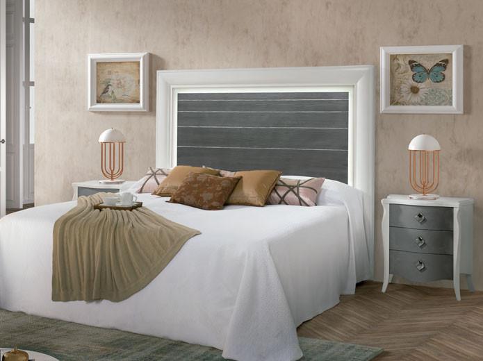 Dormitorio moderno 5 en muebles valencia en madrid - Cabeceros y mesitas de noche ...