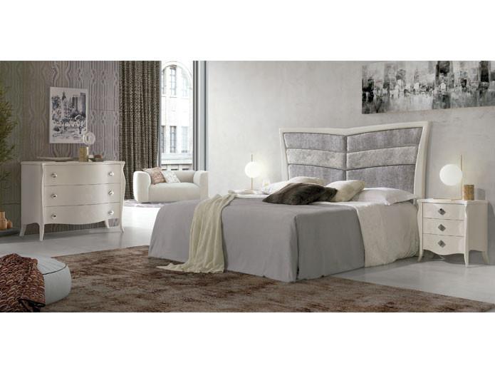 Muebles blancos de dormitorio moderno mesegue muebles - Muebles de dormitorio blancos ...