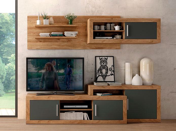 Dormitorio r stico colonial 7 en muebles valencia en madrid for Dormitorio rustico