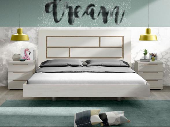 Dormitorio Modelo Colonial 8 en Muebles Valencia de Madrid