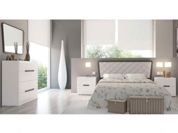 Dormitorio de matrimonio estilo contemporáneo modelo 15