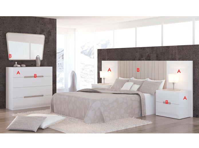 Dormitorio clásico contemporáneo Madrid