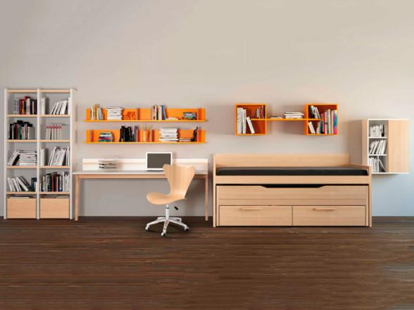 Dormitorio Juvenil Moderno 183 en Móstoles en Madrid