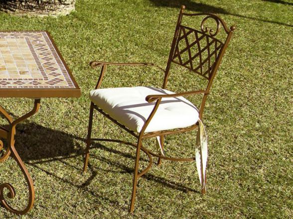 Silla Clásica 13 de madera con asiento y respaldo tapizados