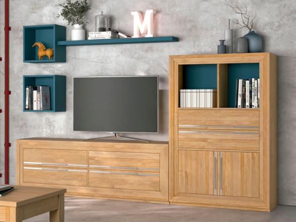 Escritorio y librerías para estudio 2