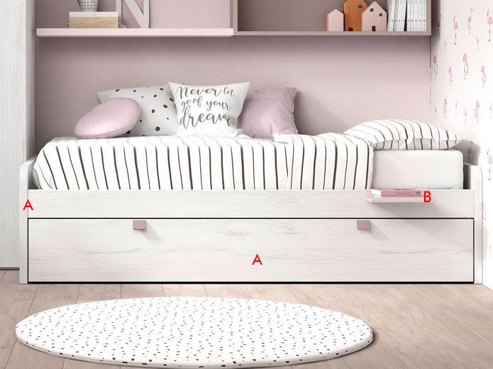 Muebles dormitorio Torga Life Night -Tienda de muebles en Madrid