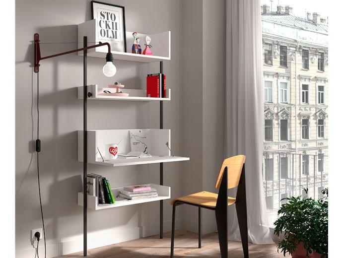 Lámpara de salón en blanco en Muebles Valencia