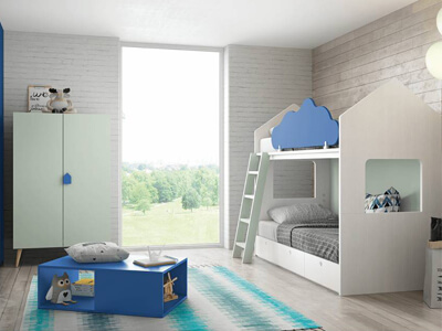 Colección de dormitorios juveniles de Antaix en Móstoles, Madrid