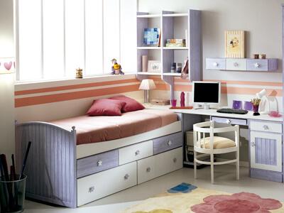 Colección de dormitorios juveniles de Colormobel en Móstoles, Madrid