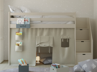 Colección de dormitorios juveniles de Muba en Móstoles, Madrid