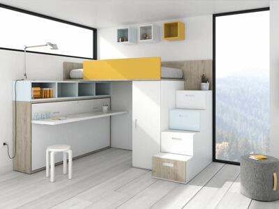 Cat logo dormitorios juveniles madrid muebles valencia for Crear muebles juveniles