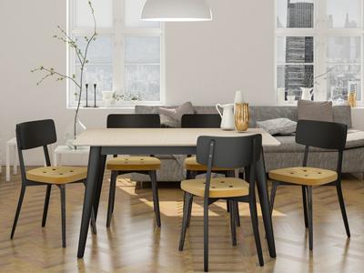 Conjunto de mesas y sillas, butacas, taburetes y banquetas de Carabassí en Móstoles, Madrid