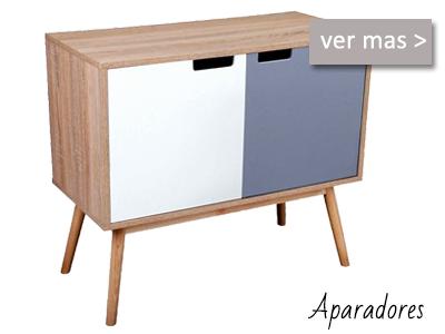 Aparadores y vitrinas modernas Muebles Valencia