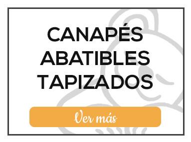 Canapés Abatibles Tapizados de Milcolchones, en Muebles Valencia, tu tienda de colchones y muebles en Madrid