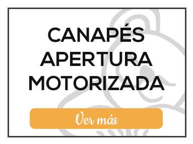 Canapés Abatibles con Apertura Motorizada de Milcolchones, en Muebles Valencia, tu tienda de colchones y muebles en Madrid