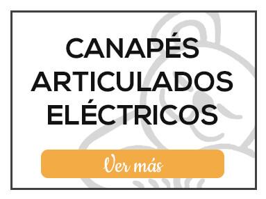 Canapés Articulados Eléctricos de Milcolchones, en Muebles Valencia, tu tienda de colchones y muebles en Madrid