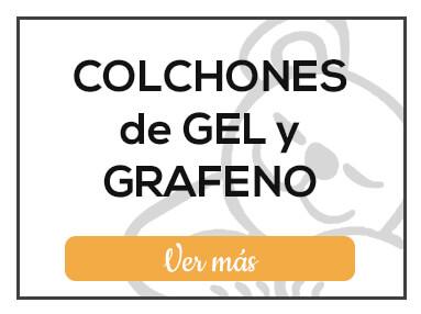 Colchones de Gel y Grafeno de Milcolchones, en Muebles Valencia, tu tienda de colchones y muebles en Madrid