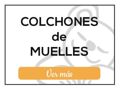 Colchones de muelles de Milcolchones, en Muebles Valencia, tu tienda de colchones y muebles en Madrid