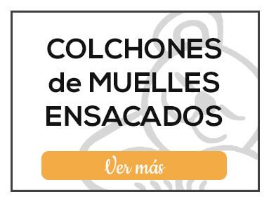 Colchones de muelles ensacados de Milcolchones, en Muebles Valencia, tu tienda de colchones y muebles en Madrid