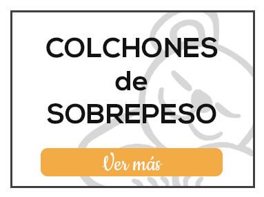 Colchones de sobrepeso de Milcolchones, en Muebles Valencia, tu tienda de colchones y muebles en Madrid
