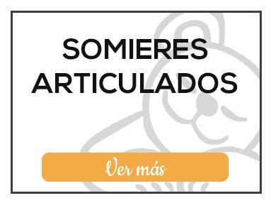 Somieres articulados de Milcolchones, en Muebles Valencia, tu tienda de colchones y muebles en Madrid
