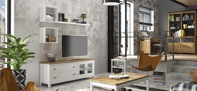 Muebles para tv baratos awesome muebles salon roble - Muebles de television baratos ...