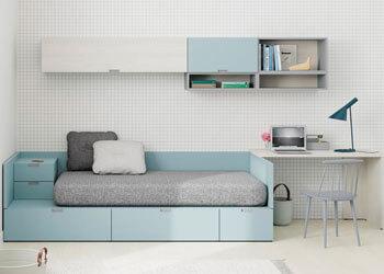 Dormitorios Juveniles en Muebles Valencia, tu tienda de muebles en Madrid