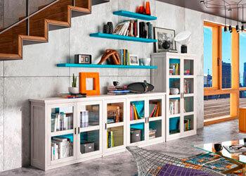 Librerias, Estanterías y Separadores en Muebles Valencia, tu tienda de muebles en Madrid